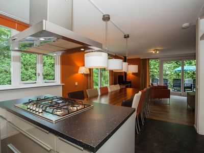 Photo for Luxury 10-person bungalow in the holiday park Landal Coldenhove - in the woods/woodland setting