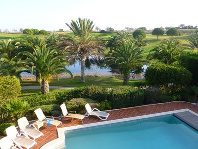 Photo for Detached 4 bed (all en-suite) Villa with solar heated pool and electric cover.