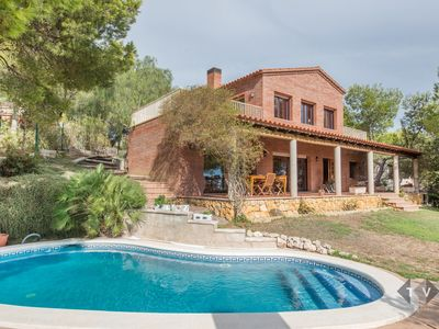 Photo for TH55 Great villa with panoramic views 400 meters to the beach