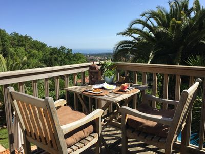 Photo for Charming Cocooning Studio Sea View Pool