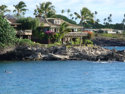 A swimming & snorkeling paradise....right out your front door.
