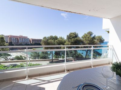 Photo for Nice apartment with magnificent views to the beach of Capellans