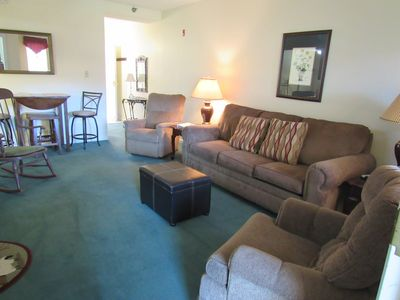 Photo for No contact checkin or out, Cozy condo dwtn,WIFI,Fireplace,Mtn View,