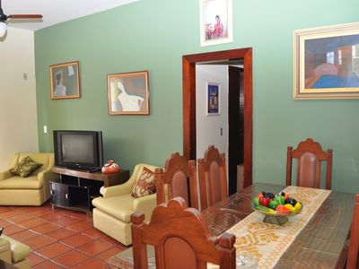 Photo for Cover with 4 Bedroom and 50 Meters from the beach - 2 suites