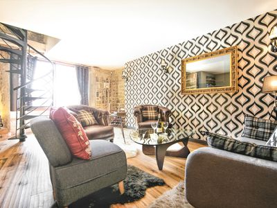 Photo for A charming cottage in a medieval village at the heart of Burgundy w/free WiFi