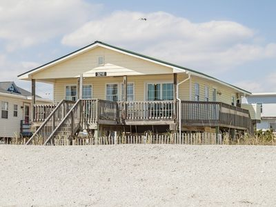 Photo for Dip Inn: 3 BR / 2 BA home in Oak Island, Sleeps 6