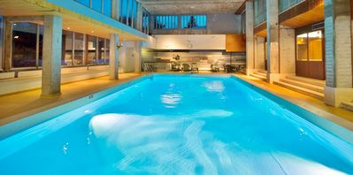 Photo for 3 bedroom apartments - residence with 2 swimming pools (int./ Ext.) - Skis