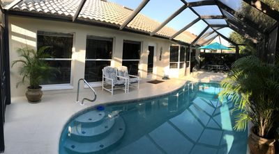 Photo for Beautiful Pool Home In A Gated Golf & Country Club Minutes From The Beach!