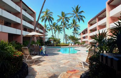 Photo for #214 at White Sands Village in Kailua-Kona. Great views of White Sands Beach!