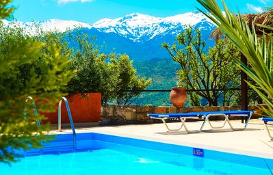 Photo for Anemole Penthouse with pool and unique view over the Cretan Mountains