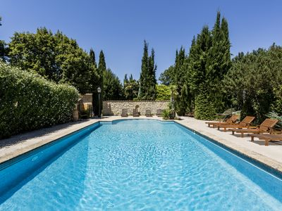 Photo for South Luberon, superb farmhouse with pool, tennis, golf nearby