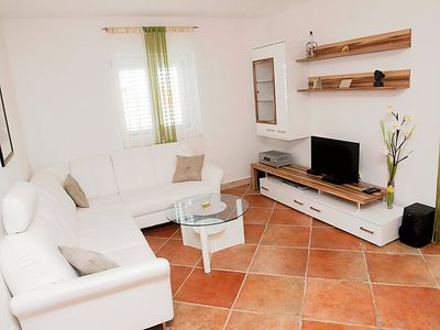 Photo for Vacation home Villa Monika in Brač/Povlja - 9 persons, 4 bedrooms