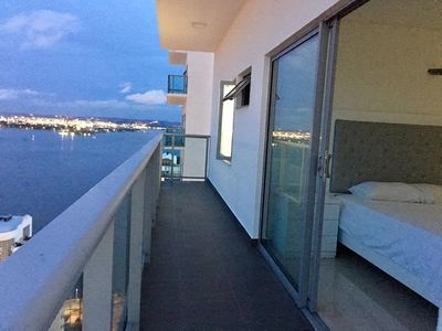 Photo for ocean experience.  luxury Beach front apartment