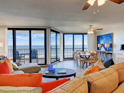 Photo for Sea Gull #910: Beachfront 3 Bedroom 2.5 Bathroom With Spectacular Views and 24 Hour Management