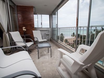 Photo for Isla Verde Oceanfront (Two bedroom) Ocean view