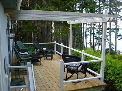 Photo for Cozy Waterfront Cottage w/Amazing Bay Views! NearAcadiaNationalPark. Free WiFi