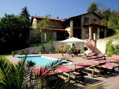 Photo for Magnificent Mansion in Bastia Mondovi with Swimming Pool