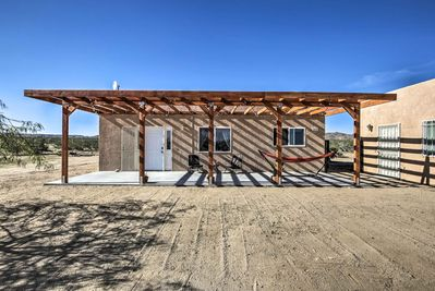 Get away from it all when staying at this vacation rental home in Landers, CA.
