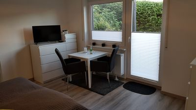 Photo for Apartment with swimming pool, sauna and WiFi