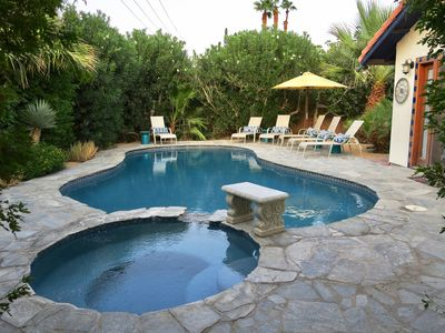 Photo for Private Oasis Just Steps From Old Town La Quinta!