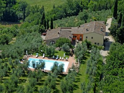 Photo for Mercatale Apartment, Sleeps 4 with Pool
