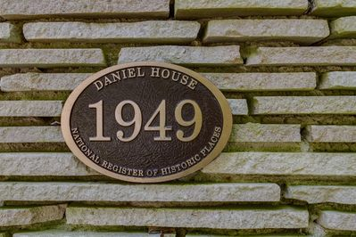 The Daniel House is on the National Register of Historic Places!