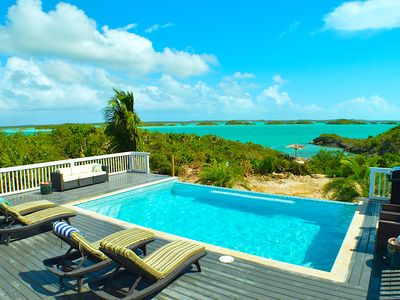 Photo for Panoramic Oceanfront Villa - Private Beach, Infinity Pool, ensuite bathrooms