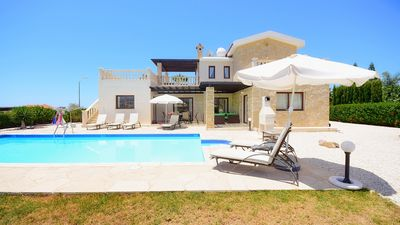 Photo for Luxury Villa With Private Pool And Sea Views - Car Hire Not Necessary