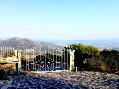 Photo for Panoramic Sardinian style villa 18 km from Olbia airport