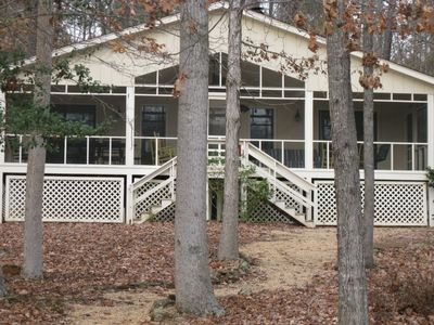 Photo for Perfect 4 Bedroom Lake Cottage on Lake Gaston, NC