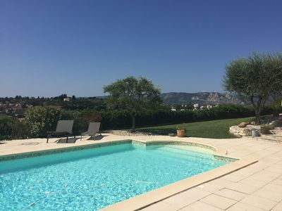 Photo for Rhône Valley, unique view, new upscale, independent, comfort