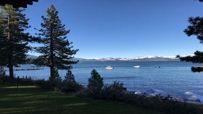 Lake Tahoe Across the Street