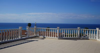 Photo for First Class seaview villa with private pool and spacious living room.