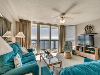 Photo for Gorgeous 4 bedroom Oceanfront Condo, Ashworth 1209!
