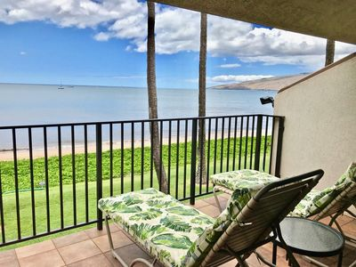 Photo for Maalaea Surf, Unit A5 - Great Beachfront Condo, 1BR Loft Suite