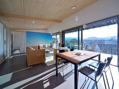 Photo for Extravagant penthouse apartment with stunning views of the countryside