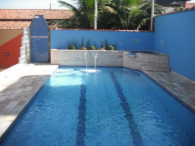 Photo for Beautiful House with Swimming Pool * Itanhaém * 30m Beach * Cozy Place for Leisure and Rest