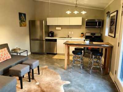 Photo for Mid-Century Modern Guest Suite w/ Gated Parking in Great Location Close to All