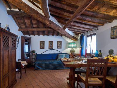 Photo for Charming 2 Br Flat In City Center Siena Close To Piazza Del Campo