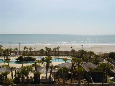 Photo for Royale Palms, 3rd floor,  Rare Amazing Direct Ocean Front View, Pool Access