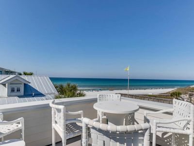 Photo for GULF Views! | PRIVATE Pool & Beach Access | Booking FAST! | FREE Fun PASS | Updated | Sea Time @ 30A