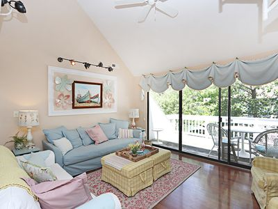 Photo for 3007E: Lakefront 2BR+loft at Sea Colony - Walk to pools & tennis - Private beach