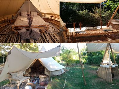 """Photo for Inuit tent and camp """"Tupiq silik"""" (19,6 m²)"""