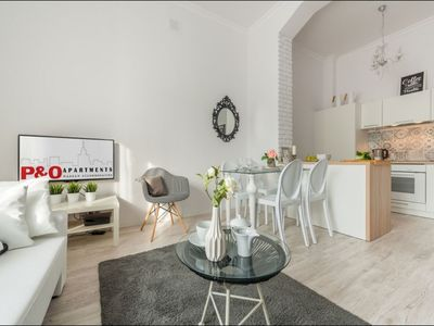 Photo for Andersa apartment in Nowe Miasto with WiFi & lift.