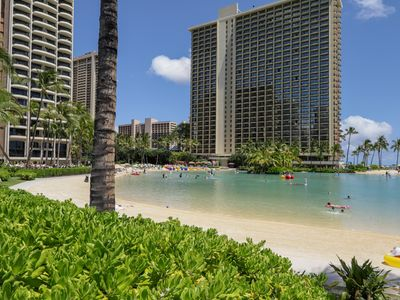 Photo for Waikiki room w/ a shared pool, valet & fitness center - near the beach