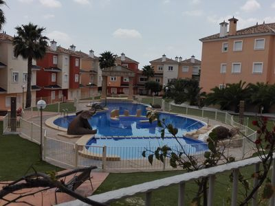 Photo for 2 bed/2 bath apartment in Alhambras 1, Mosa Trajectum, Banos y Mendigo, Murcia