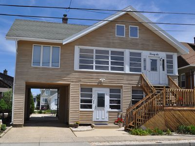 Photo for Six Homes To The Beach! Ocean Block- Get away to the Jersey shore!