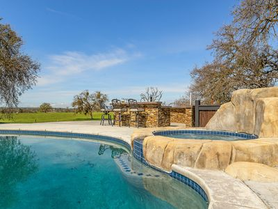Photo for WINE 'N WESTERN- RANCH RETREAT 4 BED w/POOL & SPA