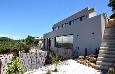 Photo for Modern Villa, with pool and mountain views, Begur, Costa Brava