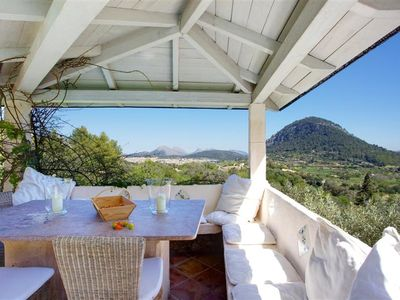 Photo for Elegant & Outstanting Villa with magnificent view to the valley close the town